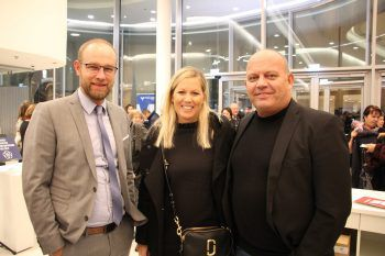 "<p class=""caption"">Andre Feldkircher mit Brigitte und Lukas Konzett.</p><p class=""caption"" />"
