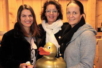 """<p class=""""caption"""">Annette Burtscher, Conny Amann und Doris Hörburger.</p>"""