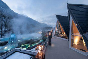 "<p class=""caption"">Aqua Dome – Ein Resort der ""Vamed Vitality World"". www.vitality-world.com</p>"