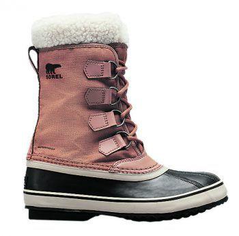 """<p class=""""title"""">               Kuschelige Schuhe             </p><p>Der Damen Winterstiefel von """"Sorel"""" ist wasserdicht und sehr gut isoliert. Mit robuster Gummisohle und Filzinnenstiefel. Preis: 99,99 Euro.</p>"""