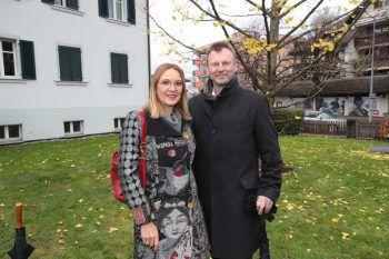 "<p class=""caption"">Birgit M. König und Prim. Peter Fraunberger.</p><p class=""caption"" />"
