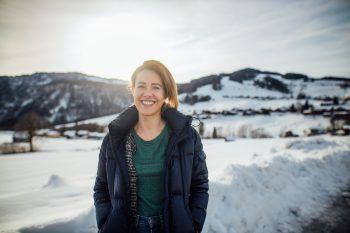 """<p>Claudia Gamon, Politikerin: """"Ich möchte 2020 für den europäischen Green Deal zur Rettung des Klimas kämpfen, Käsknöpfle im Europäischen Parlament berühmt machen und besser Skifahren (lacht).""""</p>"""