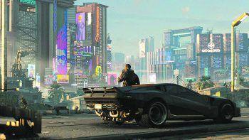 """<p class=""""title"""">Cyberpunk 2077</p><p>16. April 2020 (PC, PS4, Xbox One). In diesem Open World Action Adventure suchen die Spieler nach einem Implantat, das Unsterblichkeit verspricht.</p>"""