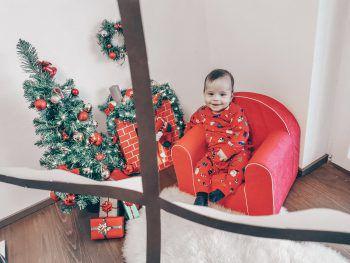 """<p class=""""caption"""">Da freut sich jemand auf Weihnachten: Eine Einsendung von Aleksandra.</p>"""