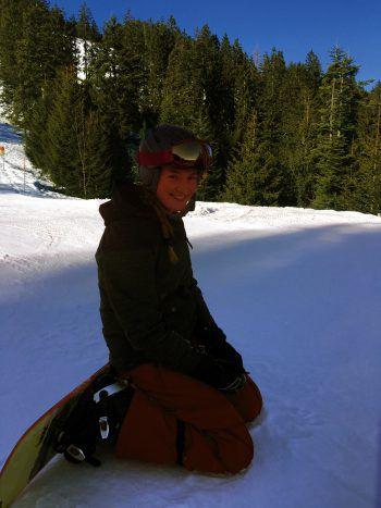 Damüls ist das Lieblings-Skigebiet von Anouk. Die junge Schweizerin verbringt die Wintertage oft mit dem Turnverein in Damüls.Fotos: handout/privat
