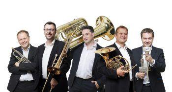 Das Blechbläserquintett Sonus Brass Ensemble versteht es, Erzählungen musikalisch wiederzugeben. Foto: handout/Kevin Zimmermann