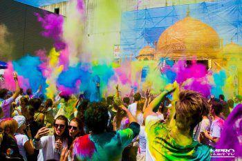 Das Holi Festival kommt wieder zurück nach Dornbirn und wird größer, bunter und spektakulärer. Jetzt schon Tickets sichern.Foto: handout/MPro Net TV/Club Sender