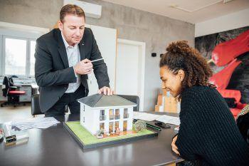 BKS Massivhaus erfüllt mit Town & Country den Traum vom Eigenheim.Foto: Sams
