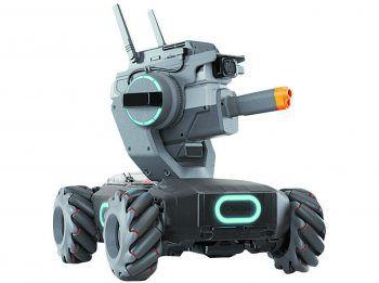 """<p class=""""caption"""">Das ultimative Spielzeug für Robo-Fans: Der DJI RoboMaster S1 verfügt über 46 programmierbare Komponenten, diverse Wettkampfmodi uvm. Ganz billig ist der Robo aber nicht: 549 Euro.</p>"""