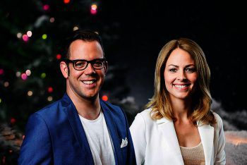 David Breznik und Kerstin Polzer führen durch die Sendungen. Foto: handout/ORF