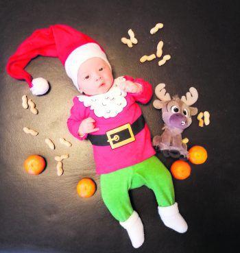 """<p class=""""caption"""">Der kleine Weihnachtself Nico.</p>"""