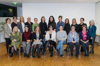 Die Absolventinnen bekamen in Götzis ihre Zertifikate überreicht.Foto: VLK/Hofmeister