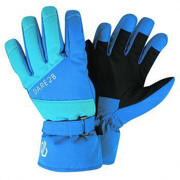 """<p class=""""caption"""">Die Kinder-Winterhandschuhe von """"Regatta"""" sind wasserdicht, pflegeleicht und verfügen über eine Highloft-Isolierung sowie Reflektoren und eine Sicherheits-Clipbefestigung. Preis: 16,99 Euro.</p>"""