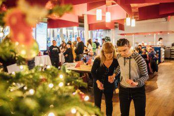 Die WANN & WO Patenkind-Weihnachtsfeier in der Cafeteria war für die Familien sowie das WANN & WO-Team ein rundum gelungenes Fest.