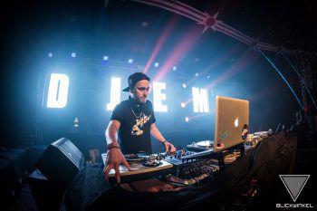"""""""DJ EM"""" schaffte es schon zweimal in die National Finals des weltweiten RedBull Thre3style DJ Battles. Foto: handout/Nani"""