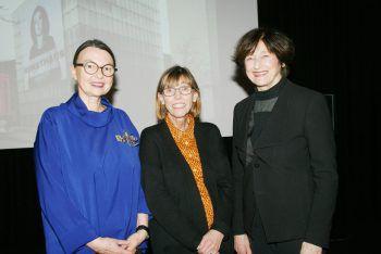 "<p class=""caption"">Dorothea Goop-Jehle, Silvia Eiblmayr und Dagmar Streckel.</p><p class=""caption"" />"