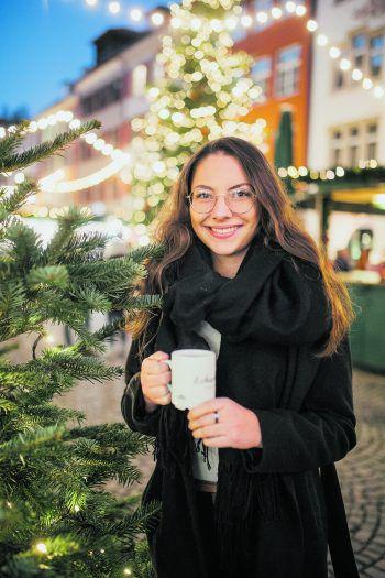 Susanna genießt die Adventszeit auf den Weihnachtsmärkten im Ländle.
