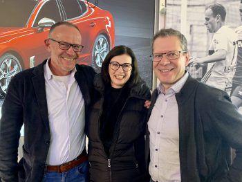 Franz Kopf, Helene Berchtold und Markus Borg.