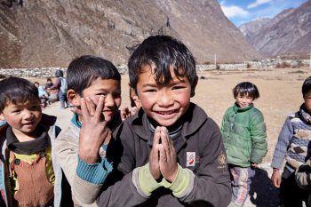 Für die Kinder in Nepal ist das Hilfsprojekt sehr wichtig. Foto: handout/Chay Ya Austria/Sabine Klotz