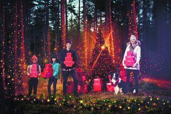 Für jede Outdoor-Aktivität bestens gerüstet: Panto Outdoor wünscht allen Lesern frohe Weihnachten!Fotos: handout/Panto Outdoor