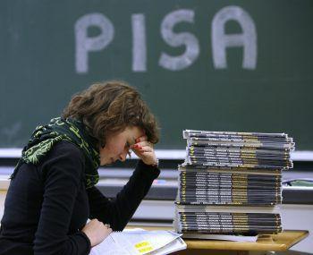 Für PISA 2018 wurden weltweit rund 600.000 Schüler des Altersjahrgangs 2002 getestet, in Österreich waren rund 6800 aus rund 300 Schulen mit dabei.Fotos: APA, Grüne