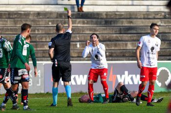 Gegen die überragenden Rieder gab es für den FC Dornbirn gestern nichts zu holen.Foto: GEPA