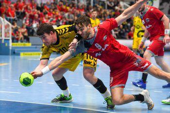 """<p class=""""caption"""">Handball der Spitzenklasse bei Bregenz Handball und dem HC Hard.</p>"""