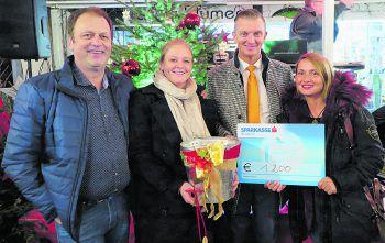 Hanno Fuchs, Wiebke Meyer, Dr. Wolfgang Eichler und Cemanur Kartal. Foto: Bludenz Stadtmarketing GmbH
