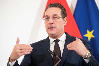 HC Strache bezeichnet die Vorwüfe gegen ihn als haltlos.Foto: APA