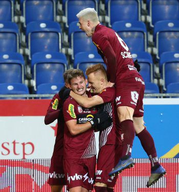 Johannes Tartarotti aus Bezau erzielte gestern sein erstes Bundesligator. Foto: APA