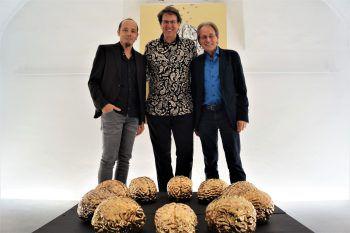 Künstler-Trio Hotz, Madsen und Mittendorfer.