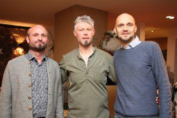 "<p class=""caption"">Lothar Schedler, Bobi Jovic und Denis Djulic.</p><p class=""caption"" />"