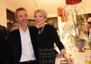 Marco und Melanie David freuten sich über das zahlreiche Erscheinen bei der Eröffnung ihres neuen Geschäftslokals.