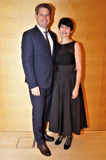 """<p class=""""caption"""">Markus und Miriam Comploj von Getzner Holding.</p>"""