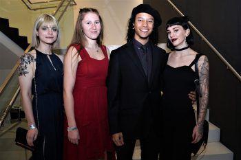 """<p class=""""caption"""">Michelle, Szevia, David und Cheyenne (alle Getzner).</p>"""