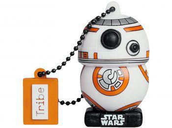 """<p class=""""caption"""">Möge die Macht mit dir sein! Star Wars geht immer, die 16 GB-USB-Sticks von MAIKII im Stormtrooper oder BB-8-Design sind genau das richtige Geschenk für angehende Jedis und Sith Lords. Erhältlich um 19,99 Euro.</p>"""