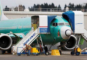 Produktions-Stopp für die Boeing 737 Max. Foto: Reuters