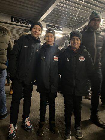"""<p class=""""caption"""">Red Bull Salzburg steht auch für eine hervorragende Akademie, zu welcher diese Jungs gehören.</p>"""