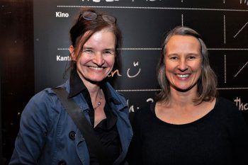 """<p class=""""caption"""">Regisseurin Brigitte Soraperra und Spielbodenleiterin Heike Kaufmann.</p>"""