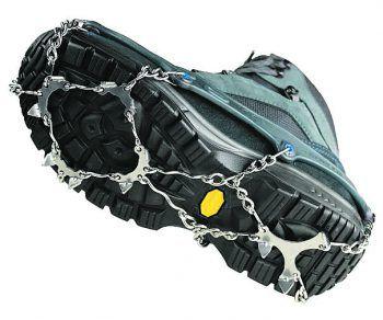 """<p class=""""title"""">               Schuhketten             </p><p>Die Schuhketten """"Pro"""" bieten perfektern Grip auf Schnee und hohe Sicherheit auf Eis. Preis: 49,99 Euro.</p>"""