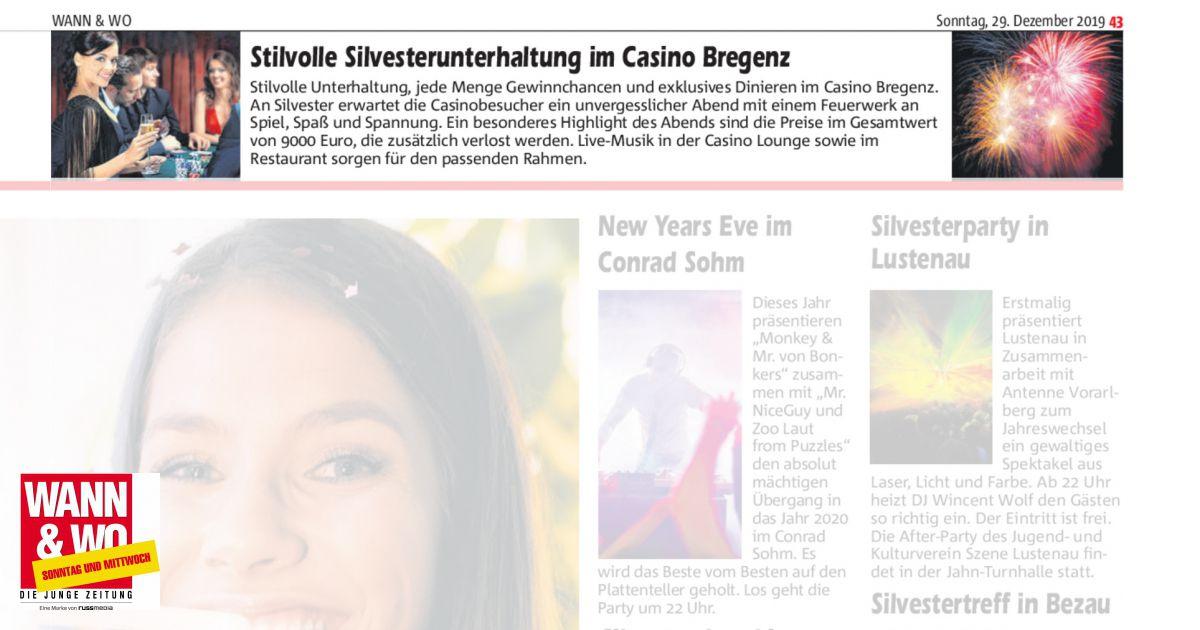 Casino Bregenz Silvester