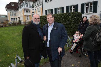 """<p class=""""caption"""">Stadträte Johannes Drexel und Arno Gächter.</p><p class=""""caption"""" />"""