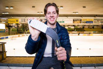 """<p class=""""caption"""">Sympathisch, dankbar und fokussiert: Eishockey-Talent Marco Rossi. Fotos: Breuß/Sams</p>"""