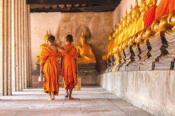 """<p class=""""title"""">               Thailand             </p><p>Nicht umsonst hat Thailand den Beinamen """"Land des Lächelns"""", denn überall wird man von freundlichen und lächelnden Gastgebern begrüßt. Das exotische Land bietet eine vielseitige und abwechslungsreiche Landschaft und Kultur – tropische Inseln, quirlige Metropolen und beeindruckende Tempel. Um alle Facetten Thailands kennenzulernen empfiehlt sich eine Rundreise, von Bangkok in den hohen Norden nach Chiang Mai und anschließend Relaxen an den Traumstränden oder auf einer kleinen Insel im Süden.</p>"""