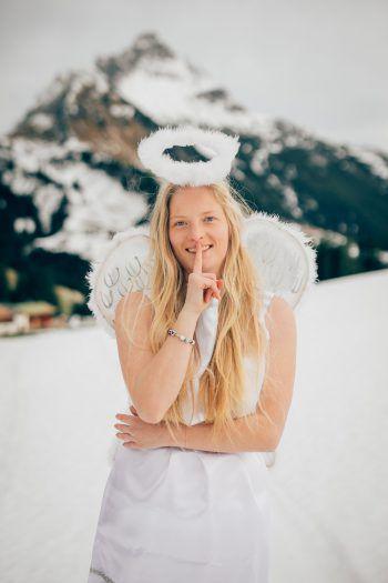 WANN & WO-Weihnachtsengel Noelle hat die ersten Gewinner ausgewählt! Weitere folgen am Sonntag. Fotos: Sams; handout/WKO; Shutterstock