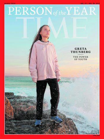 """""""Wie konntet Ihr es wagen, meine Träume und meine Kindheit zu stehlen mit Euren leeren Worten?""""Die 16-jährige schwedische Klima-Aktivistin Greta Thunberg am 23. September auf dem UN-Klimagipfel in New York. Außerdem schaffte es die wohl polarisierendste Person des vergangenen Jahres als """"Person of the year"""" aufs Cover des Time Magazines."""