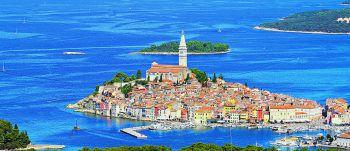 Das schöne, bunte Hafenstädtchen Rovinj ist ein Highlight in Kroatien und wird bei einem der Ausflüge besichtigt.Fotos: handout/High Life Reisen