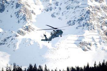 """<p>Davos. Landeanflug: """"Marine One"""", der Helikopter von US-Präsident Donald Trump, setzt zur Landung beim Weltwirtschaftsforum an. Wenig später hielt Trump auf dem WEF eine Rede.</p>"""