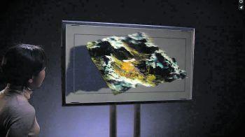 Der Lichtfeldmonitor stellt Bilder in 3D dar – ganz ohne Brille. Foto: Looking Glass Factory