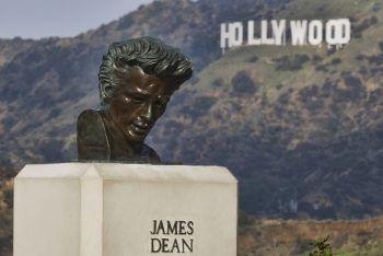 Digitale Rückkehr von den Toten: Hollywood-Rebell James Dean. Foto: AP